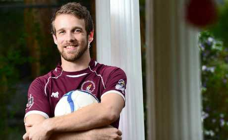 VALUABLE LESSONS: Queensland Christian Soccer Association player Joshua Dieckmann is hoping to return to national competition next year.