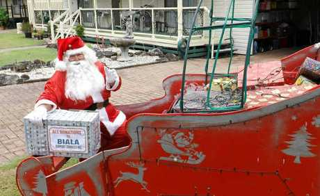 HO, HO, HO: Santa Claus will be at the Sanctuary Village, Lennox Head, light up in aid of Biala Support Services in Ballina.