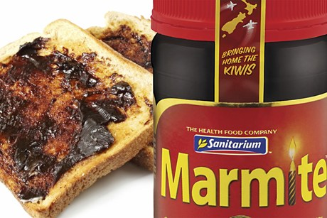 Supplies of Marmite ran out last March after the Canterbury earthquake damaged the factory.