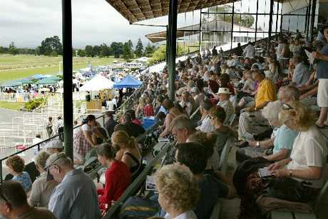 A bumper crowd is expected for the third Christmas at the Races meeting tomorrow. Photo / Chris Callinan