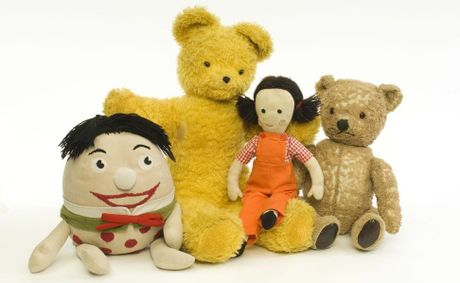 GET YOUR SING-A-LONG ON: Play School characters Big Ted, Jemima, Little Ted and Humpty will be in Kingaroy next May.