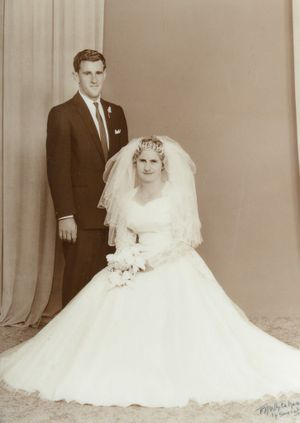 Howard and Marlene Smallwood celebrate their 50th wedding anniversary on 15 December 2012. Photo: Contributed