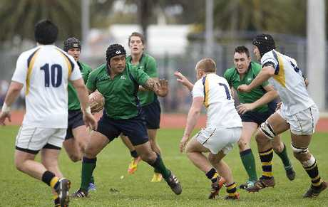 FRIEND OR FOE?: Old Boys' and Marist were foes this year, but they will most likely be friends in 2013 as their clubs continue their move towards amalgamating.