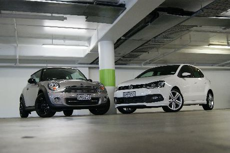 Of the Mini Cooper Baker Street and VW&#39;s Polo R-Line, one can be described as naughty, the other as nice. Both are outstanding rides.