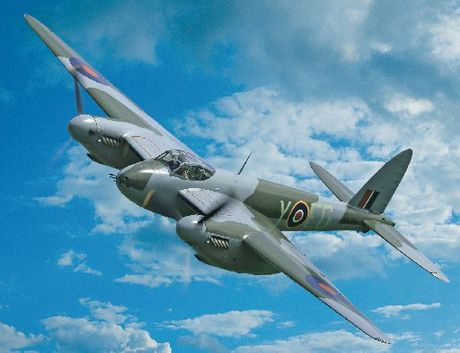 The world&#39;s only flying WWII De Havilland Mosquito bomber is coming to Tauranga.