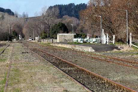 MPs Chris Tremain and Craig Foss have been accused of inaction over the Napier-Gisborne rail line. Photo / File