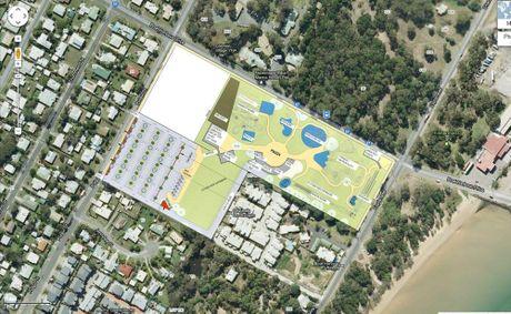 The proposed Splash Bay development is in a suburban neighbourhood in Urangan.