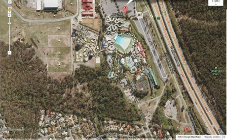 Wet 'n' Wild satellite image.