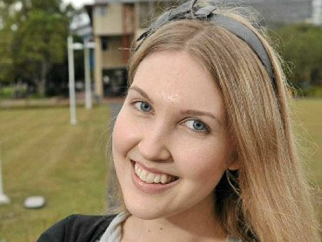 GENIUS: Uni graduate Chelsea Wallis is 18.