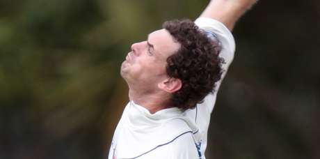 The efforts of Canterbury's Gareth Andrew overshadowed the bowling of Auckland's Kyle Mills (picture).
