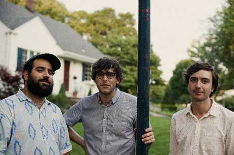 Real Estate: Alex Bleeker, Matt Mondanile and Martin Courtney.