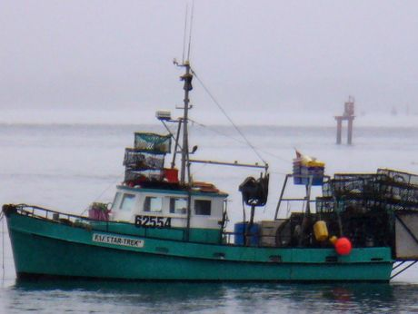 "The commercial fishing vessel ""Star Trek""."