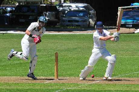 ON SONG: Harry Clinton-Baker on the attack for Wairarapa in an earlier Hawke Cup fixture against Wanganui.