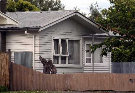 CRIME SCENE: The home where the attack took place in Onekawa, Napier, on Sunday.