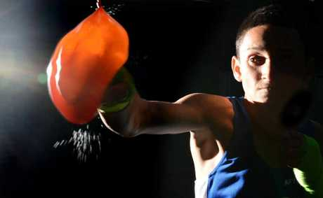 ON RIGHT TRACK: Sean Mulford is a promising young boxer who has already won Queensland titles.
