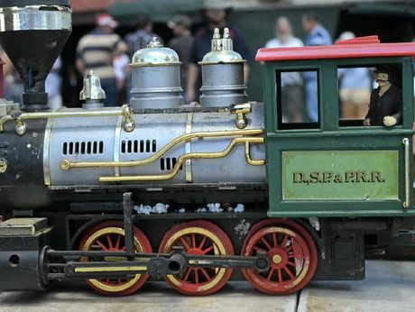 A toy train, complete with a bucket load of track and carriages, would make the ideal gift for rail enthusiasts.
