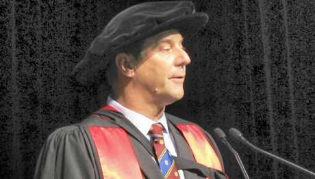 HIGH HONOUR: Dr Gavin Porter was awarded the coveted University of Queensland Gatton Gold Medal during the graduation ceremony last week.