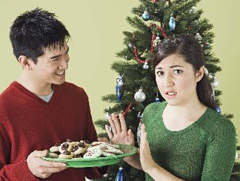 CHOOSE WISELY: Prepare your body for festive treats and alcohol by eating foods that keep you full and hydrated.