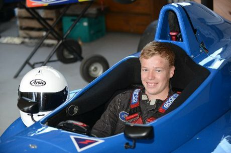 BRIGHT FUTURE: Te Puke teenager Michael Scott has the racing world at his feet.