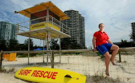 Demi Meredith at Coolangatta SLSC. Photo: John Gass / Daily News