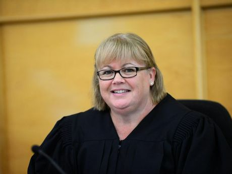 Magistrate Annette Hennessey at the Rockhampton court house.