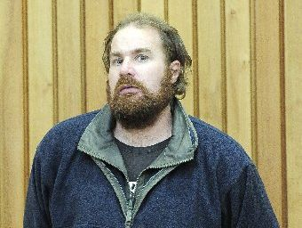 Armed robber Bevan Peter Brown was sentenced in Tauranga District Court yesterday. Photo / George Novak