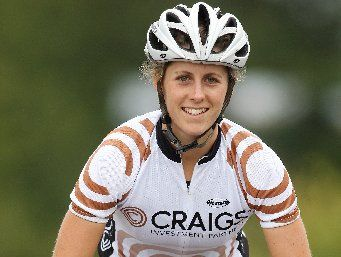 Courteney Lowe is ranked among the best team road cyclists in the US. Photo / File