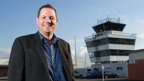 Rotorua International Airport chief executive George White is leaving his role to take on a new challenge. Photo / File