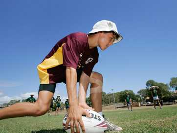 Boys from across Central Queensland gathered at Yeppoon for the annual NRL Development Camp for junior rugby league players.  Photos CHRIS ISON.