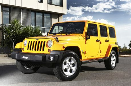 Jeep has just released the Jeep Wrangler Overland.