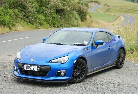The Subaru BRZ launches in New Zealand this month, but seeing one on the road will be a rare event.