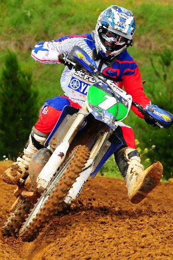 Now: Darryll King will once again defend his national title riding a Yamaha YZ 250cc 2-stroke. Photo / Andy McGechan