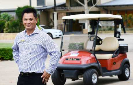 KEEN: Brookwater Golf & Country Club General Manager Warren Seeto would like to see the PGA Championships move to Brookwater.