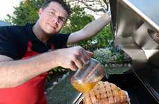 DELICIOUS: Cr Andrew Antoniolli is a master at cooking a glazed ham.