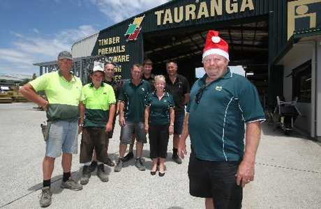 Tauranga ITM has donated $2000 to the foodbank. Photo / Joel Ford