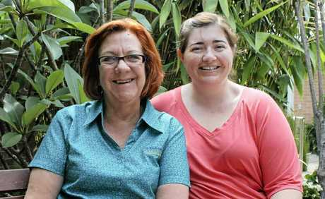NEW STAFF: St Andrew's director of community care Helen Doust (left) and director of care services Katrina Seng.