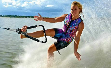 Ashleigh Stebbeings set new records in barefoot water skiing in 2012, culminating with the award of international athlete of the year in her sport.