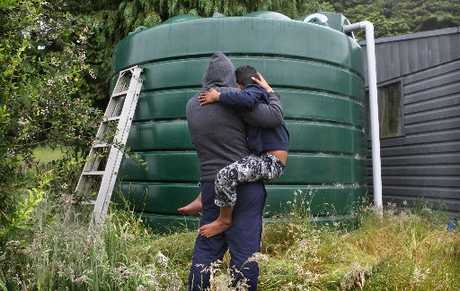 WATER TANK: A rural Rotorua family believe someone has deliberately thrown dead possums into their water tank.