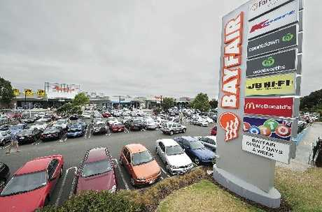 It's not easy to find a free car park at Bayfair just before Christmas.