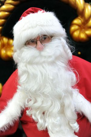 CANDID INTERVIEW: Santa shares stories about his life.
