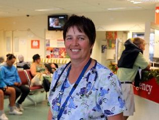 CHRISTMAS WORK: Sharon Payne is an Emergency Department nurse at Hawke's Bay Hospital, and will be one of many people working this Christmas.
