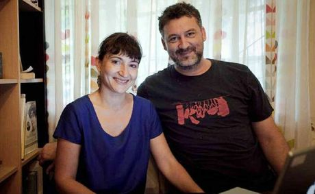 Heart of Golds new art directors Stephen Kanaris and Tahnee McGuire of Hatch Film have taken on the role to present the 2013 international film festival.