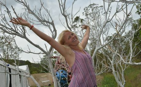 Woodford 2012 is feeling like it will be a beauty. Jenny Oakley.