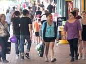 Hawke's Bay shoppers increased spending in May by 6.4 per cent, compared with the same period last year.