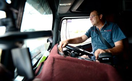 Truck driver John Coutts has been blown away by the response to a video he recorded of another truck putting others at risk on the Bruce Hwy.