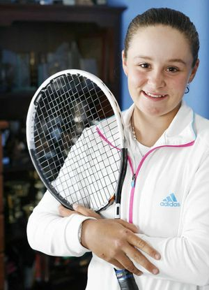 RAPID RISER: Ashleigh Barty.