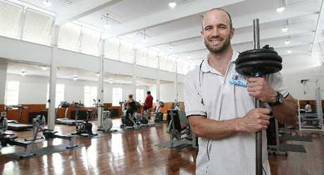 NEW SPACE: Dr Aaron Randell is delighted with the new QE Health gym, which opened last week.