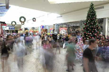 CASH TO BURN: Shoppers descend on Bayfair shopping centre for Boxing Day sales.