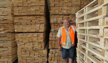 BRANCHING OUT: The Pallet Company has opened a branch in Napier, with former Hawke's Bay rugby representative Terrence Taylor as site manager.