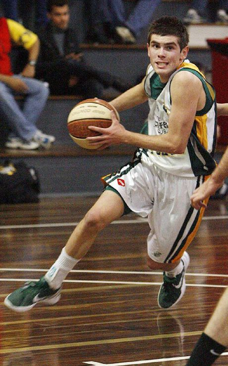 FAST PROGRESS: Ipswich Force basketballer Jason Ralph is one of the talented players to come through the city's program.